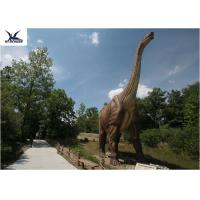 Buy cheap Neck Turning / Tail Moving Outdoor Dinosaur Statues Anti - High Temperature from wholesalers