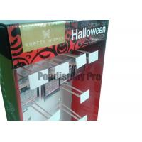 """Buy cheap 48"""" Recyclable Cardboard Hook Display with 20 Peg Hooks Easy Assembly product"""