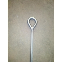 Buy cheap galvanized steel forged thimble eye bolt pole line hardwares product