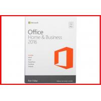 Quality Microsoft Office 2016 Professional Retail For Mac – Home And Business Office for sale