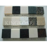Buy cheap Corian acrylic solid surface sheets with SGS from wholesalers