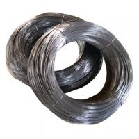 Buy cheap Flexible High Carbon Steel Wire / galvanized steel wire C1015 C1065 C1075 C1095 product