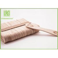 China European Style Personalized Wooden Ice Cream Spoons Bulk Popsicle Sticks Odorless wholesale