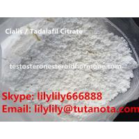 China Sex Steroid oral Cialis / Tadalafil Citrate / 171596-29-5 powder for ED treatment wholesale