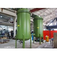 Buy cheap Carbon Steel Lining PPS Material Back Wasking Filter For High Purity Manganous Sulfate Filtration product