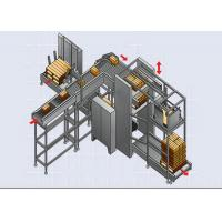 Buy cheap High Speed Automated Palletizer / Stacker for Bagged Building Material product