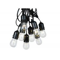 Buy cheap 48FT Outdoor Light String Set E26 E27 S14 Edison Bulb Low Voltage IP65 product