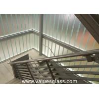 Buy cheap Low Iron Tempered U Shaped Glass 262(W)X60(H)X7(T) Mm Dimension Building Material product