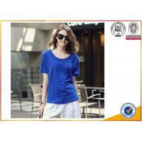 Buy cheap 2017 New Fashion 100%Cotton Cheap Custom promotional top Women T shirt from wholesalers