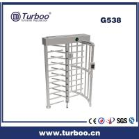 Buy cheap Card Reader 304 Stainless Steel Turnstiles , Electronic Turnstile Gates product