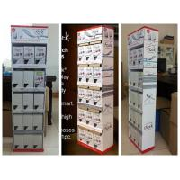 Corrugated Card 5 Shelf Paper Display Stand Retail POS Displays for iFork