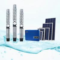 Buy cheap AC 1.5kW Solar Pump Irrigation System For Daily Water Using / Agricultural Irrigation product