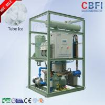 Buy cheap 5 Tons Capacity Ice Tube Machine , Outdoor Ice Maker Power Saving product