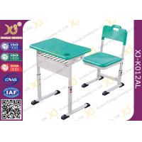 Buy cheap Aluminum Alloy Material Student Desk And Chair Set Light Weight And Stable from wholesalers