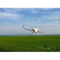 Quality Low Cost Crop Dusting Helicopter UAV for Agriculture Use Ginger , Rice , Wheat for sale