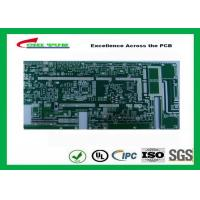 Buy cheap Taconicrf Green Solder Mask Double Side PCB 0.75mm Lead Free HASL DK3.5 DF0.0025 product