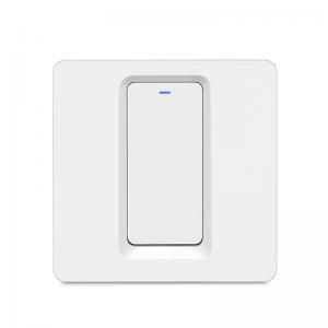 Buy cheap EU 1 Gang WiFi 94 V0 Touch Screen Dimmer Switch Wall Light Switch product