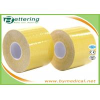 China Kinesiology Physiotherapy Tape For Pain Relief , Cotton Sports Therapy Tape on sale