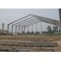 Pre Engineered Light Steel Structure Workshop Durable With Single Layer Floor