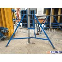 Buy cheap Removable Slab Formwork Construction Folding Tripod Q235 Steel Pipe Material product