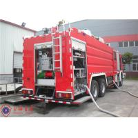 Buy cheap Mercedes Chassis Light Fire Truck 6 Seats Pump Flow 140L/S With Electrical System product