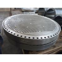 China tube sheet Bleed ring square flange on sale