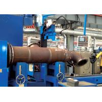 Buy cheap Tube Flange MIG / MAG / CO₂ Automated Welding Machines For Tube Intersection Line product