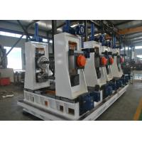 Buy cheap High Frequency Square Tube Mill , Carbon Steel Welded Pipe Production Line product