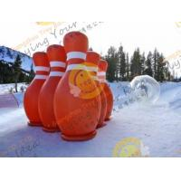 Buy cheap 3.6m Big Inflatable Sport Balloons , UV Protected Printing Outdoor Inflatable Bowling product