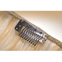 China Beauty Brown #6 Clip In Hair Extension Weave For Sexy Lady SGS on sale