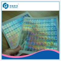 Buy cheap Tamper Evident Custom Hologram Stickers ,  Customized 2D / 3D Hologram Stickers product