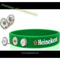 Buy cheap custom 1 inch wide fat silicone wristbands silicone rubber wristband for club, sport team product