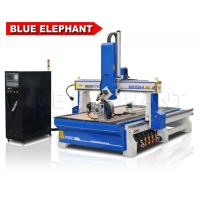 Buy cheap ELE 1530 wood 4 axis cnc router carving machinery with YASKAWA Motor and driver from Japan for EPS foam, mould product