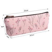 Buy cheap Soft Nylon Zipper Pencil Pouch For Girls Pencil 21*18.5*8 Cm product