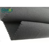 Buy cheap Medium Weight 76 Gsm Twill Woven Interlining Fabric With PA Double Dot product