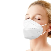 Buy cheap Earloop KN90 Meltblown Nonwoven Fabric FFP2 White Face Mask product