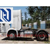 Buy cheap SINOTRUK STEYR 371HP 15 Ton Prime Mover Truck in Green , Manual Unloading Diesel Trucks , Global Machine product