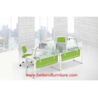 Buy cheap Module design Two Person glass divider office workstation desk set T type product