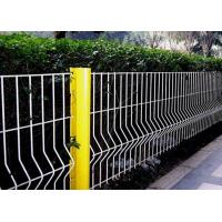 Buy cheap Security Triangle Bending  Fence / Folded Mesh Fencing For Outdoor / Road Fence product