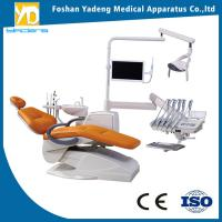 China Top-mounted Instrument Tray Dental Chair Unit WIth 2 Years Warranty wholesale