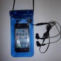 Buy cheap waterproof, sand proof mobile phone holder bag for ipods, Made of PVC application beach product