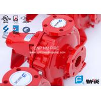 Buy cheap FM Approved End Suction Fire Pump 400GPM / 155PSI For Pipelines Bureaus product