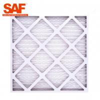 Buy cheap Primary MERV13 Pre Filter Air Filter 40 , G4 Panel Cardboard Frame Furnace Filter from wholesalers