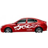 China Auto mobile car window graphics vinyl decal adhesive flatbed pen die cutting plotter on sale