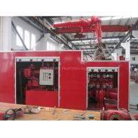 Buy cheap CCS Approved 1200m3H Containerized Fifi System product