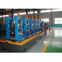 Buy cheap High Precision Carbon Steel ERW Tube Mill Line With Worm Adjustment product
