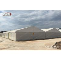 Buy cheap 20x80m Large Aluminum White Waterproof Temporary Car Storage Tents Structure For Sale product