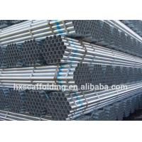 Buy cheap Tubulações galvanizadas HDG do tubo da fonte Q235 da fábrica para o sistema do from wholesalers