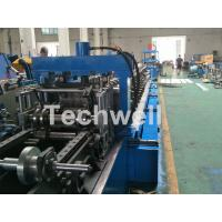 Buy cheap Blue Cable Tray Roll Forming Machine  With Punch Machine & Hydraulic Pre - Cutting Device product