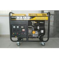 China 12kva Gasoline Powered Portable Generator Low Fuel Consumption KGE12E3 on sale